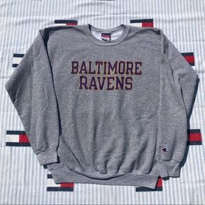 Vintage Champion Baltimore Ravens sweatshirt